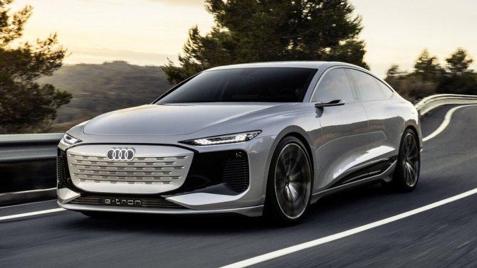 5 Audi A6-e tron Concept