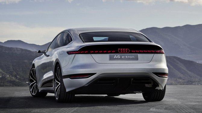 6 Audi A6-e tron Concept