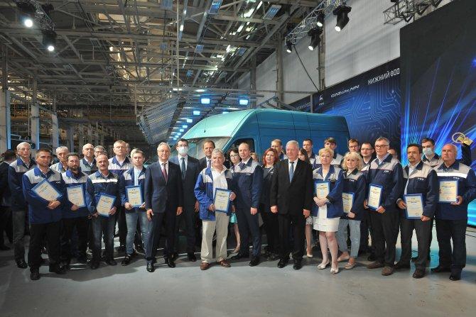 Команда создателей автомобиля ГАЗель NN