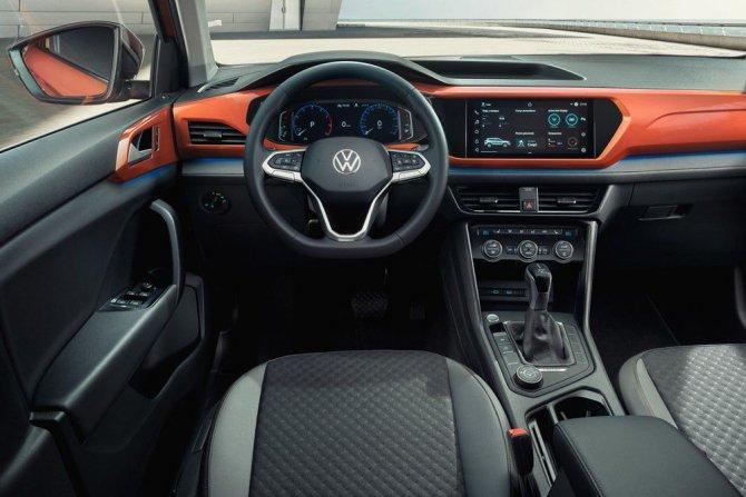 Volkswagen Taos салон