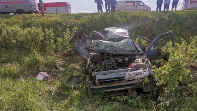 В ДТП в Брянской области погибла женщина