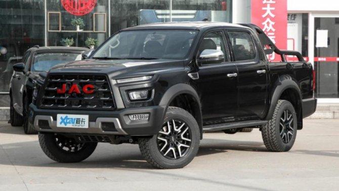 ВКитае начались продажи нового пикапа отJAC Motors