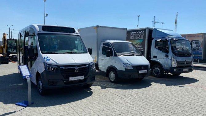 АВТОРИТЭЙЛ представил автомобили в Челябинске на выставке «Уральский автосалон. Коммерческий транспорт 2021»
