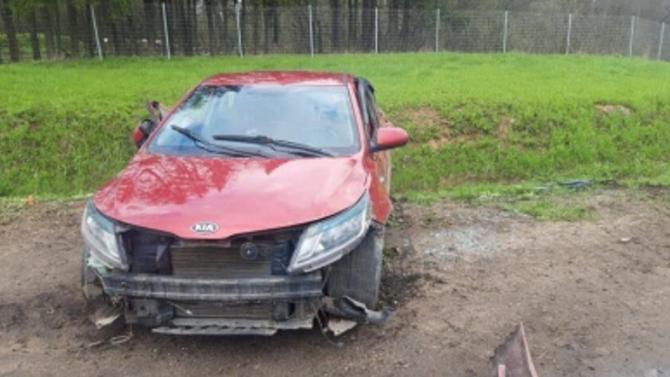 Ребенок пострадал при опрокидывании автомобиля в Смоленской области