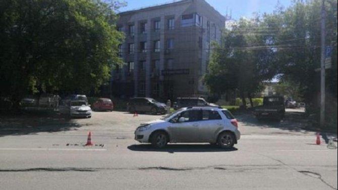 8-летняя девочка пострадала в ДТП в Новосибирске