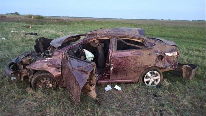 В ДТП в Омской области погиб пьяный водитель