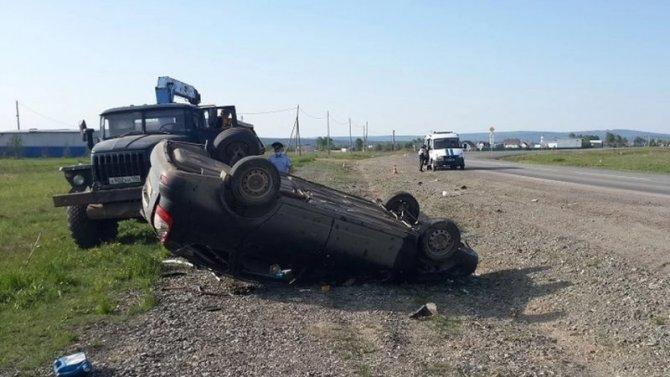 Водитель без прав погиб в ДТП в Свердловской области
