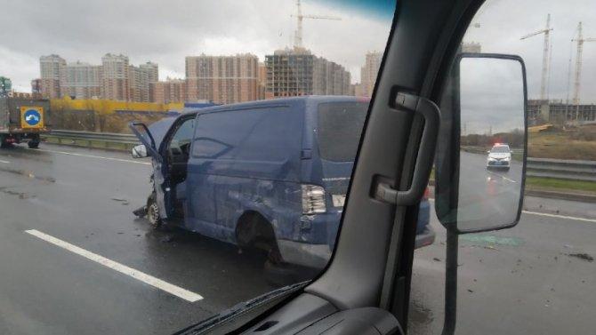 В ДТП на КАД в Петербурге погиб человек