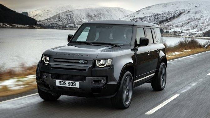 ВРоссии начались продажи Land Rover Defender сV8