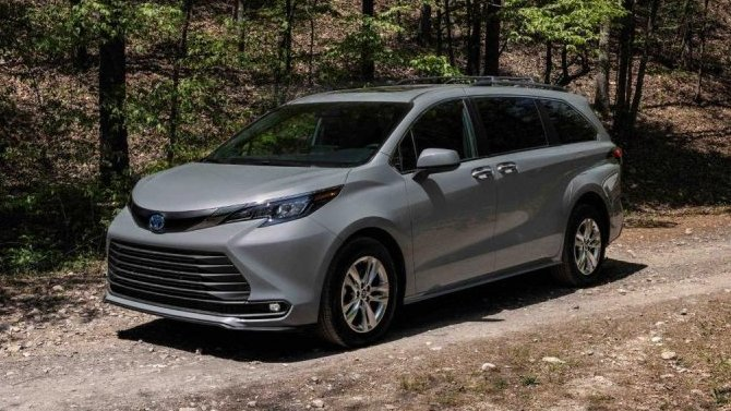 Минивэн Toyota Sienna получил туристическое исполнение