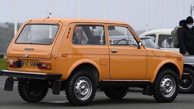 Праворульную Lada Niva снимут вTop Gear