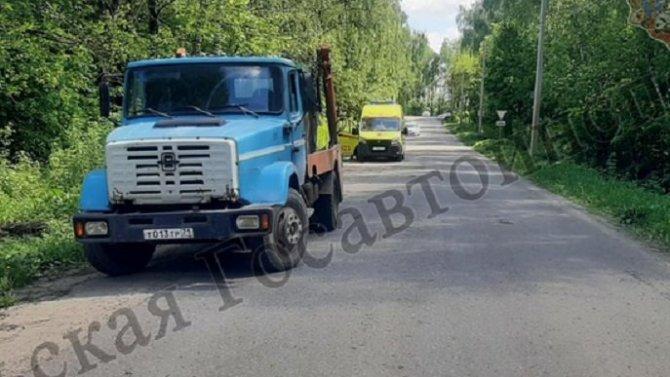 7-летний мальчик пострадал в ДТП в Узловском районе Тульской области