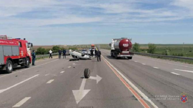 Женщина погибла в ДТП в Суровикинском районе Волгоградской области