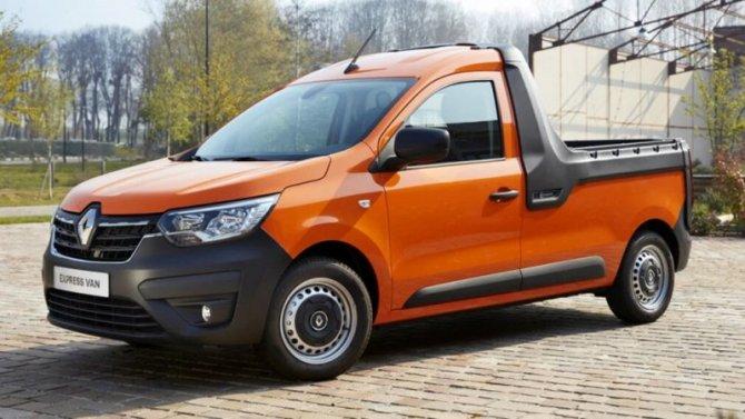Renault готовит кпремьере новый пикап