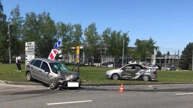 Четыре человека пострадали в ДТП в Ставрополе