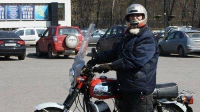 Старейший российский байкер погиб в ДТП в Мытищах