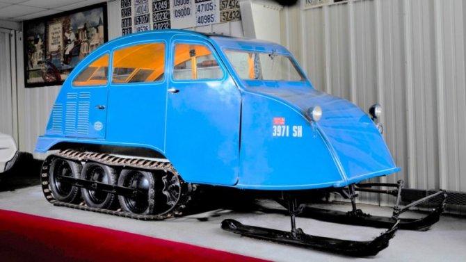 Напродажу выставлен уникальный вездеход Bombardier
