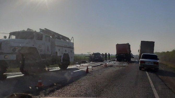 Три человека погибли в ДТП в Тоцком районе Оренбургской области