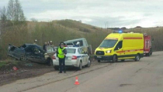 Два человека погибли в ДТП в Красноярске