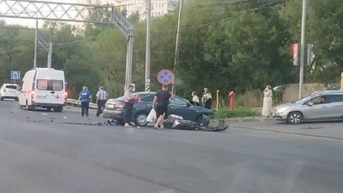 Мотоциклист погиб в ДТП во Владимире