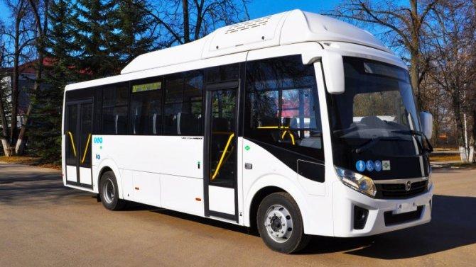 НаПАЗе начался выпуск автобусов «Вектор NEXT 8.8», работающих нагазе