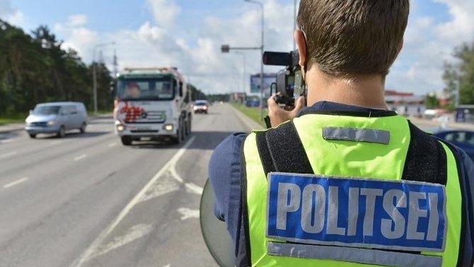 ВЭстонии водителей, превысивших скорость, будут просить неторопиться иподумать