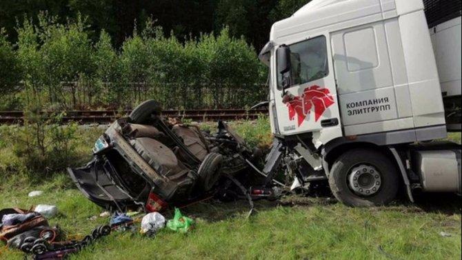 Двое взрослых и ребенок погибли в ДТП на трассе Тюмень – Ханты-Мансийск