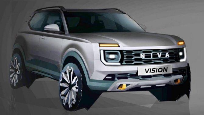 «АвтоВАЗ» утвердил дизайн внедорожника Lada NivaNG