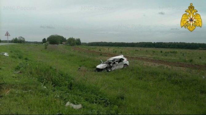 Два человека погибли в ДТП под Калугой