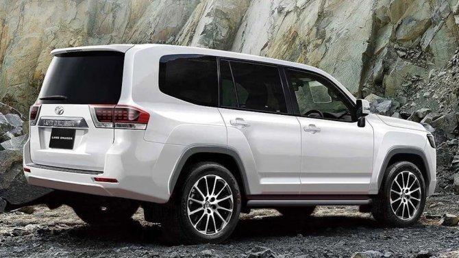 Новый внедорожник Toyota Land Cruiser 300 начнут продавать вконце лета