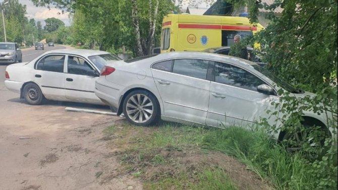 В ДТП в Твери пострадала пожилая женщина