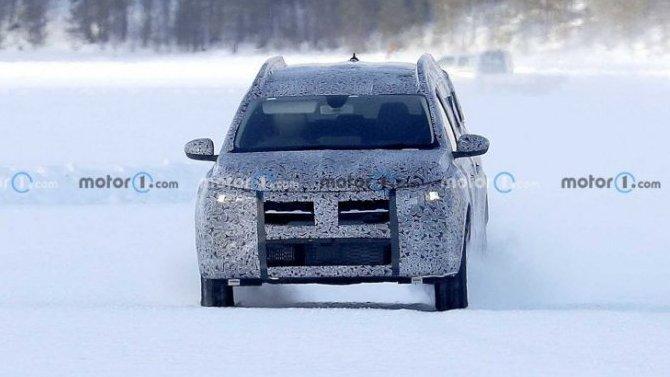 ВШвеции замечен универсал Dacia Logan MCV нового поколения