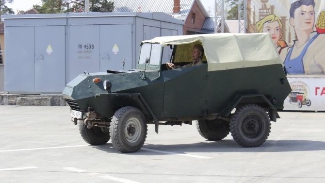ВРоссии восстановлен уникальный броневик времён Великой Отечественной войны