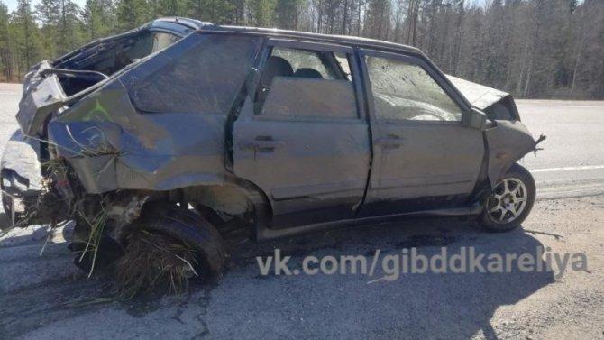 Двое детей пострадали в ДТП в Карелии