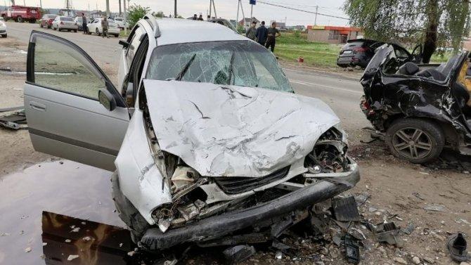 В тройном ДТП в Жукове погиб человек