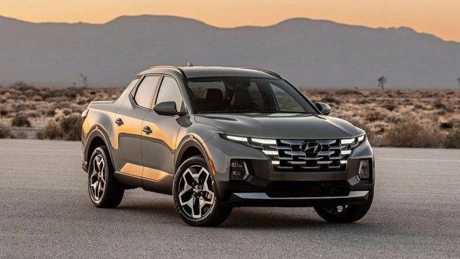 Появился конфигуратор нового пикапа Hyundai Santa Cruz