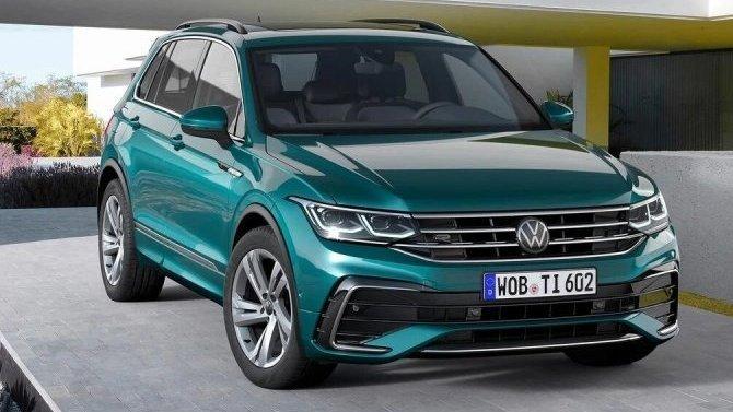 Изменились российские комплектации кроссовера Volkswagen Tiguan