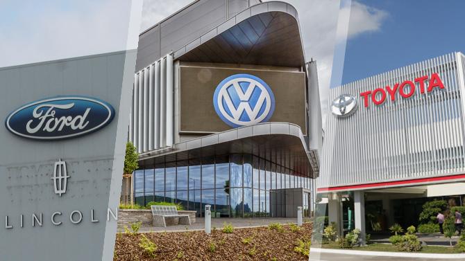 Однажды японец, немец иамериканец— Toyota, Volkswagen иFord стали лидерами мирового авторынка