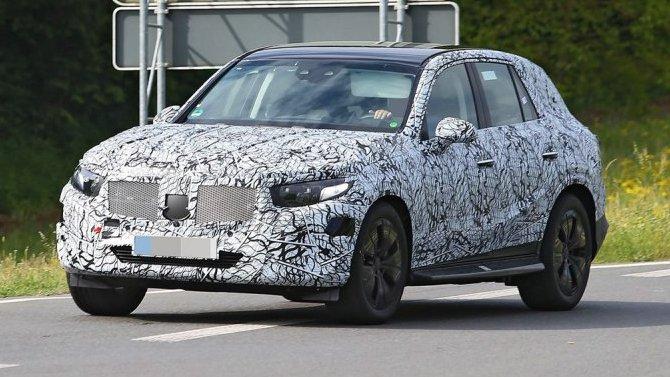 Начались испытания обновлённого кроссовера Mercedes-Benz GLC