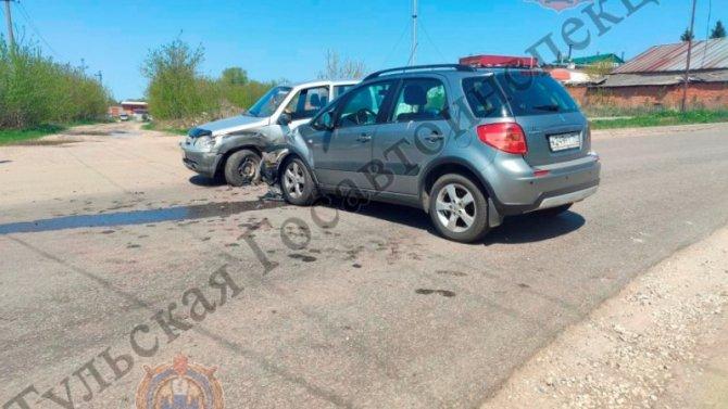 21-летняя девушка пострадала в ДТП в Киреевском районе Тульской области