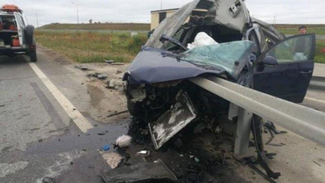 Водитель погиб в ДТП под Симферополем