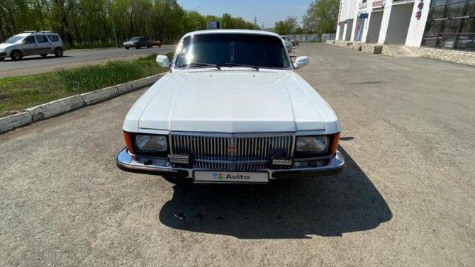 Впродаже появилась бронированная «Волга» всего за1 млн рублей