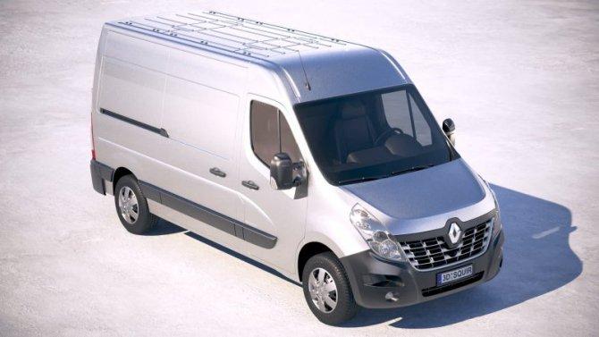 ВРоссии отправят наремонт фургоны Renault Master