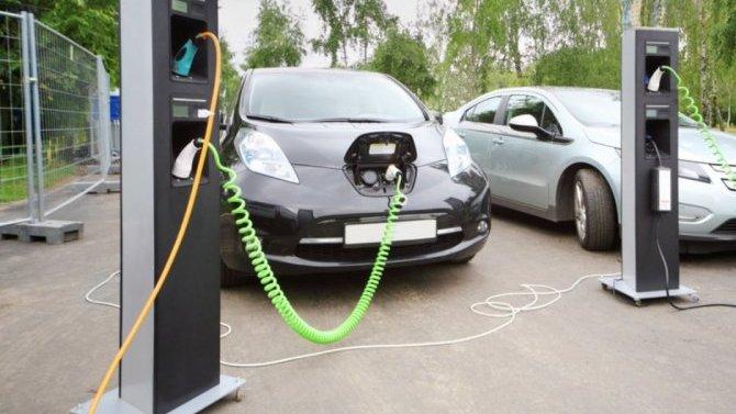 ВРоссии запускается глобальный проект построительству зарядных станций для электрокаров