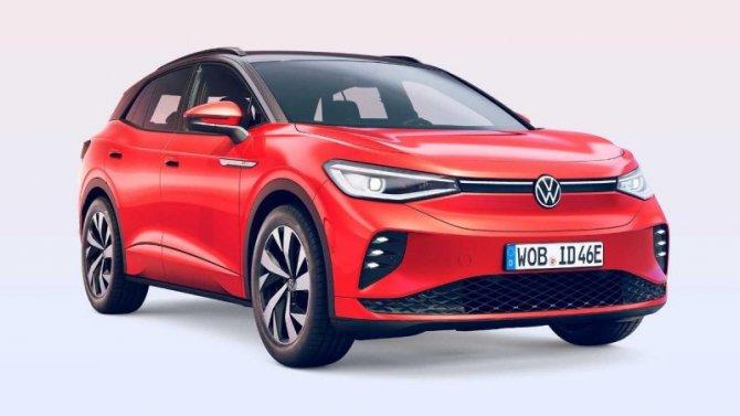 Представлен «заряженный» электрокроссовер VolkswagenID.4 GTX