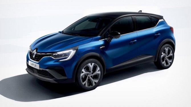 «Газовый» Renault Captur LPG получил исполнениеRS Line