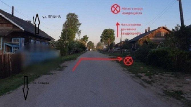 6-летний ребенок на квадроцикле попал в ДТП в Тверской области