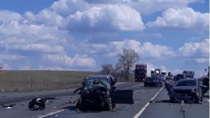 Женщина погибла в ДТП в Самарской области