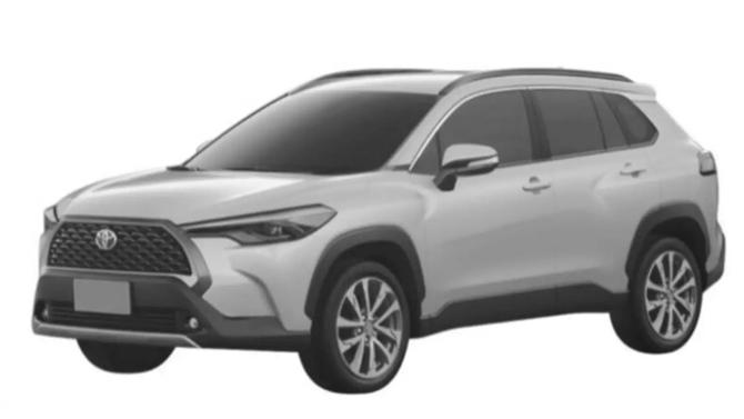 ВРоссии запатентована Toyota Corolla вкросс-версии