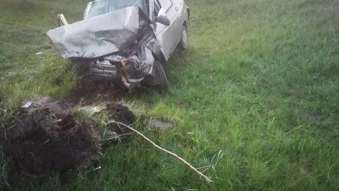 Водитель погиб в результате ДТП в Курской области
